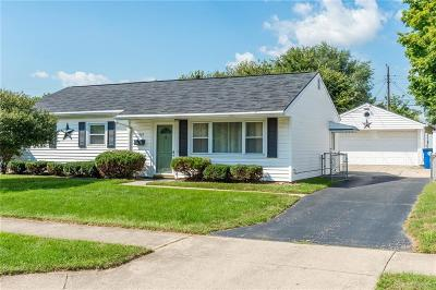 Dayton Single Family Home For Sale: 1603 Woodman Drive