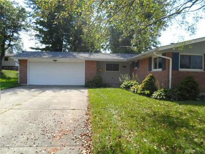 Fairborn Single Family Home Pending/Show for Backup: 1172 Mint Springs Drive