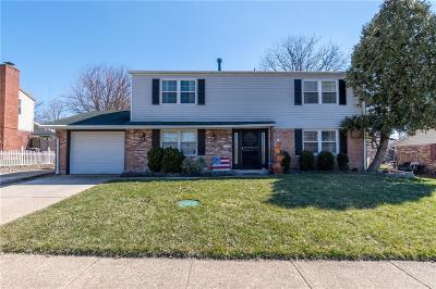 Huber Heights Single Family Home Active/Pending: 6036 Leycross Drive