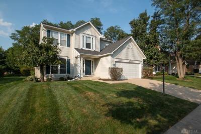 Springboro Single Family Home For Sale: 64 Christman Drive