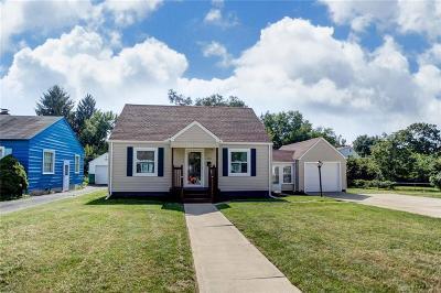 Fairborn Single Family Home For Sale: 222 Mann Avenue