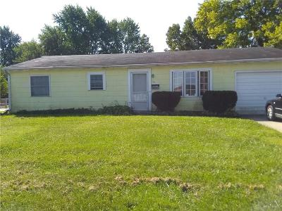 Fairborn Single Family Home For Sale: 76 Funderburg Road