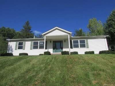 Yellow Springs Vlg OH Single Family Home For Sale: $90,000