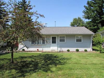 Springfield OH Single Family Home For Sale: $76,900