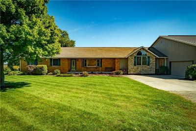 Troy Single Family Home For Sale: 3630 Monroe Concord Road
