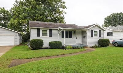 Dayton OH Single Family Home For Sale: $115,000