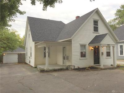 West Milton Single Family Home For Sale: 556 Miami Street
