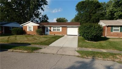 Troy Single Family Home For Sale: 1015 Frontier Drive