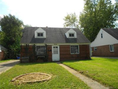 Dayton OH Single Family Home For Sale: $58,000