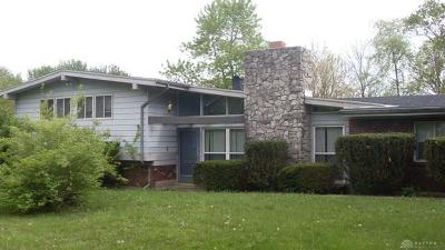 Brookville Single Family Home For Sale: 14214 Amity Road