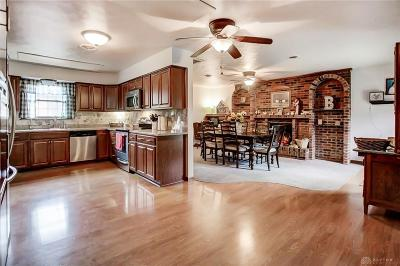New Carlisle Single Family Home For Sale: 5545 Scarff Road