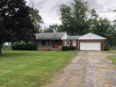 Vandalia Single Family Home For Sale: 8566 Peters Pike