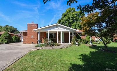 Fairborn Single Family Home For Sale: 3041 Axe Drive
