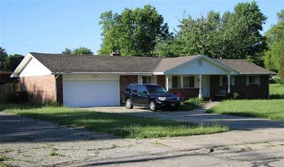 Fairborn Single Family Home Active/Pending: 3125 Old Yellow Springs Road