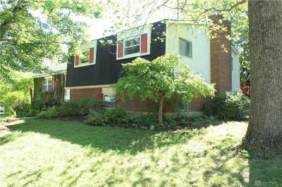 Dayton Single Family Home For Sale: 632 Lincoln Green Drive