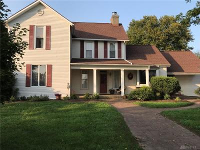 Single Family Home For Sale: 3318 Urbana Lisbon Road