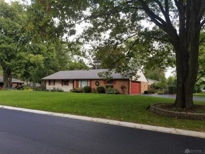 Centerville Single Family Home For Sale: 6540 Fieldson Road