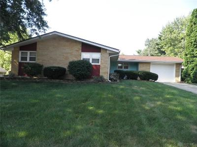 Xenia Single Family Home For Sale: 1870 Delta Avenue