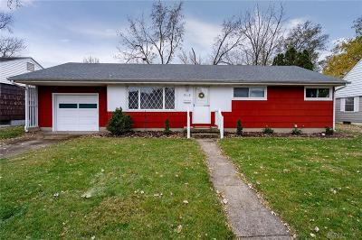 Fairborn Single Family Home For Sale: 518 Lohnes Drive