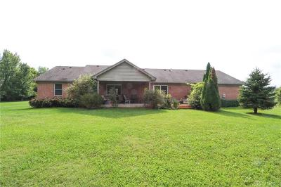 Xenia Single Family Home For Sale: 1820 Washington Mill Road