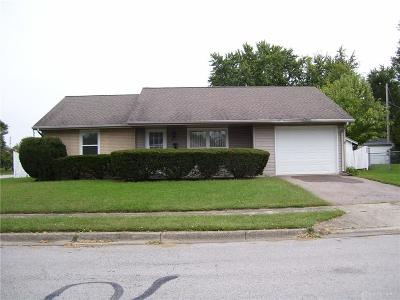 Xenia Single Family Home For Sale: 2188 Dundee Drive