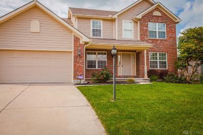 Springboro Single Family Home For Sale: 155 Myers Creek Lane