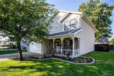 Fairborn Single Family Home Active/Pending: 117 Powell Avenue