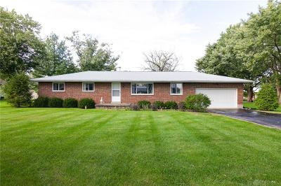 Tipp City Single Family Home For Sale: 35 Shoop Road