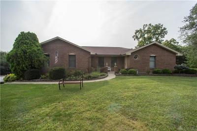 Springboro Single Family Home Active/Pending: 6170 Red Lion 5 Points Road