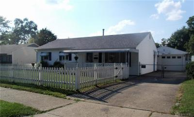 Dayton Single Family Home For Sale: 4401 Wolf Road