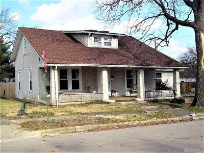 Tipp City Single Family Home For Sale: 110 Miles Avenue