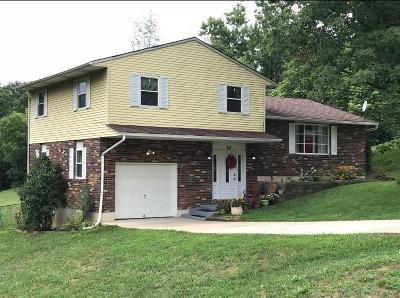 Middletown Single Family Home For Sale: 7451 Franklin Madison Road
