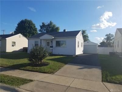 Miamisburg Single Family Home For Sale: 22 Hoover Avenue