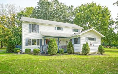 Vandalia Single Family Home For Sale: 10450 Kley Road
