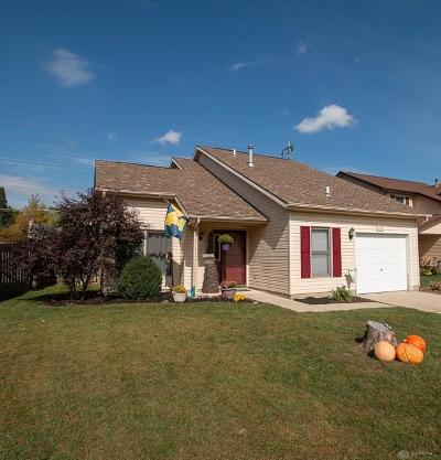 Xenia Single Family Home For Sale: 258 Fairview Court