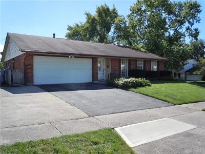 Dayton Single Family Home For Sale: 7281 Claybeck Drive
