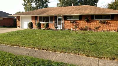 Dayton Single Family Home For Sale: 4411 Mozart Avenue