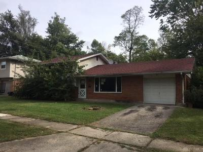 Dayton Single Family Home For Sale: 3546 Hermosa Drive