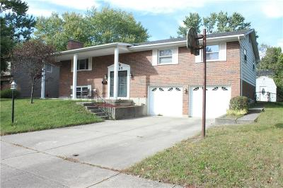 Dayton Single Family Home Active/Pending: 6485 Waywind Drive