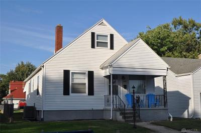 Dayton Single Family Home For Sale: 1119 Chelsea Avenue