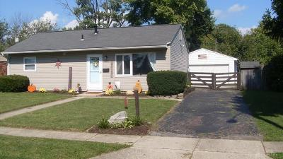 Vandalia Single Family Home For Sale: 859 Donora Drive