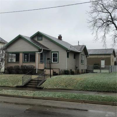 Springfield OH Single Family Home For Sale: $59,900