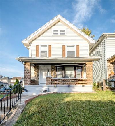 Dayton Single Family Home For Sale: 671 Carlisle Avenue