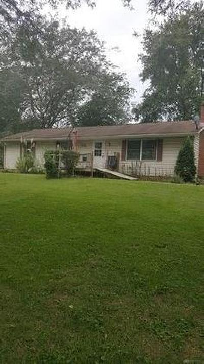 Tipp City Single Family Home For Sale: 6700 Tipp Canal Road