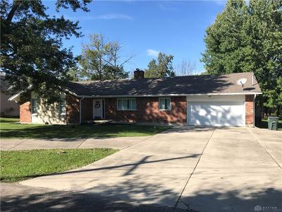 Dayton Single Family Home For Sale: 5643 Shank Road