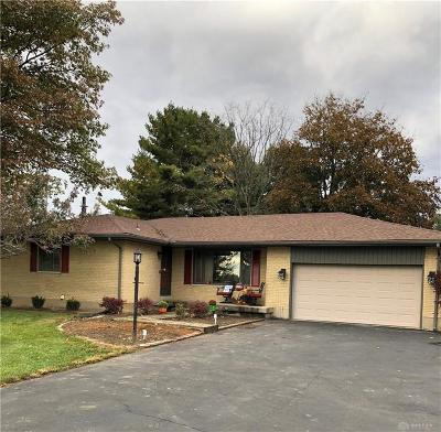Clayton Single Family Home For Sale: 5503 National Road