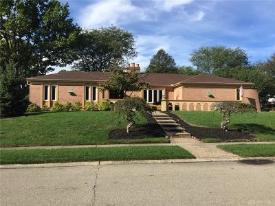 Dayton Single Family Home For Sale: 5001 Marilake Circle