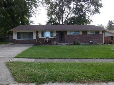 Huber Heights Single Family Home For Sale: 5164 Tilbury Road