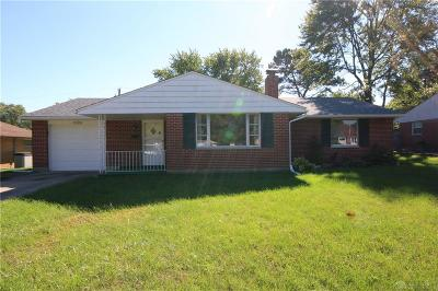 Dayton Single Family Home For Sale: 1024 Stroop Road