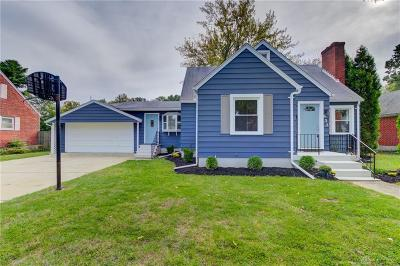 Kettering Single Family Home For Sale: 632 Monteray Avenue